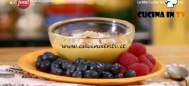 La mia cucina delle emozioni - ricetta Frutti di bosco con crema pasticcera di Marco Bianchi