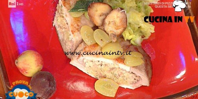 La Prova del Cuoco - ricetta Medaglioni di arista ai canederli di Fabio Campoli