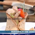 La Prova del Cuoco - ricetta Panconiglio con carciofi di Emanuele Vallini