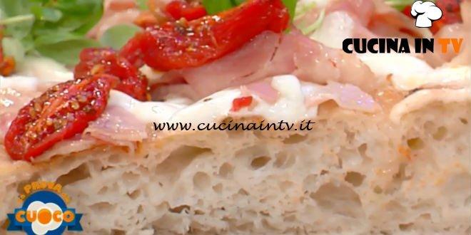 La Prova del Cuoco | Pinsa romana con pancetta fiordilatte e pomodorini ricetta Renato Bosco