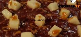 Cotto e mangiato - Risotto all'amarone pasta di nocciole e topinambur fondenti ricetta Giancarlo Perbellini