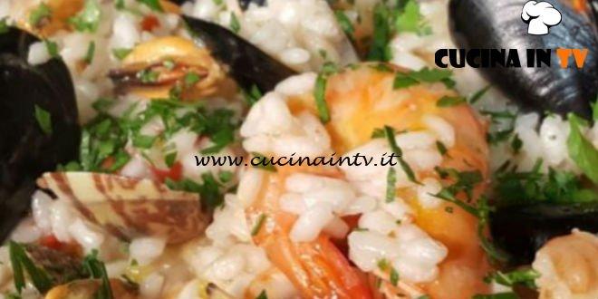 Cotto e Mangiato | Risotto allo scoglio ricetta Tessa Gelisio