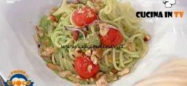 La Prova del Cuoco - ricetta Spaghetto vongole crema di broccoli e taralli napoletani di Antonella Coppola