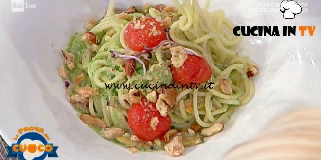 La Prova del Cuoco   Spaghetto vongole crema di broccoli e taralli napoletani ricetta Antonella Coppola