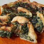 Cotto e mangiato - Torta salata con spinaci e fontina ricetta Tessa Gelisio