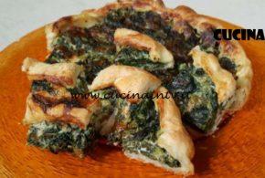 Cotto e Mangiato | Torta salata con spinaci e fontina ricetta Tessa Gelisio