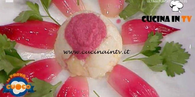 La Prova del Cuoco | Tortino di baccalà con mozzarella e cipolle rosse ricetta Anna Maria Palma