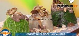 La Prova del Cuoco - ricetta Fagottini di bigoli all'anatra di Shady Hasbun
