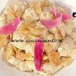 La Prova del Cuoco - ricetta Frittata alla cipolla e spuma giarratana di Vincenzo Lebano