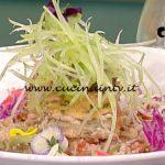 La Prova del Cuoco - ricetta Panzanella croccante alle alici di Emanuele Vallini