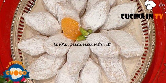 La Prova del Cuoco | Ricciarelli ricetta Susanna Badii