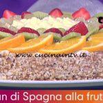 Detto Fatto - ricetta Torta pan di Spagna alla frutta di nonna Giustina