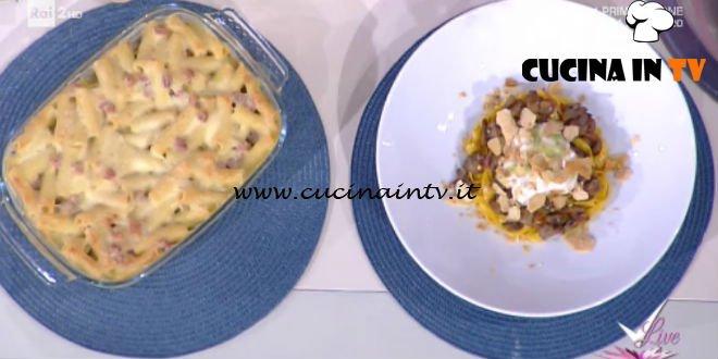 Detto Fatto | Pasta al forno bianca rivisitata ricetta Ilario Vinciguerra
