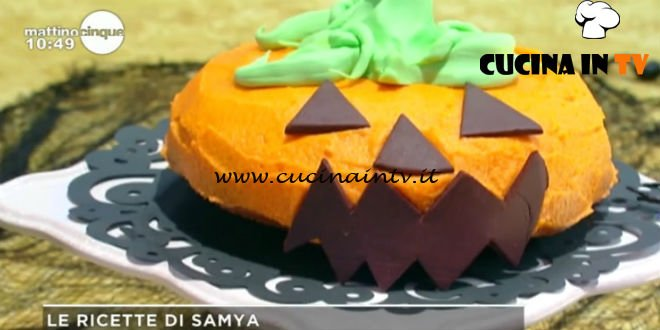 Torta stregata di Halloween ricetta Samya da Mattino Cinque