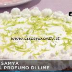 Mattino Cinque - ricetta Cheesecake al profumo di lime di Samya