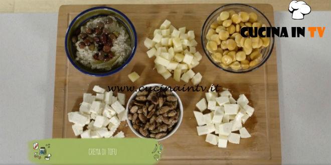 Il gusto della felicità   Crema di tofu ricetta Marco Bianchi