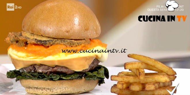 Detto Fatto - ricetta Hamburger poetico di Mattia Poggi