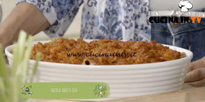Il gusto della felicità | Pasta al ragù di soia ricetta Marco Bianchi