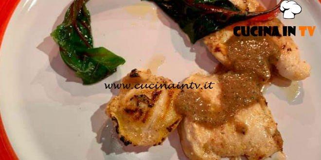 La Prova del Cuoco - ricetta Pollo aromatico con bieta di Luigi Pomata