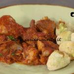 Pollo in umido con i rocchini ricetta Anna Moroni da Ricette all'italiana