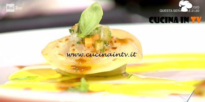 Ravioli di ossobuco ricetta Roberto Di Pinto da Detto Fatto