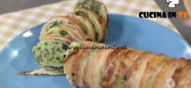 Rotolo di patate pancetta e tartufo ricetta Anna Moroni da Ricette all'italiana