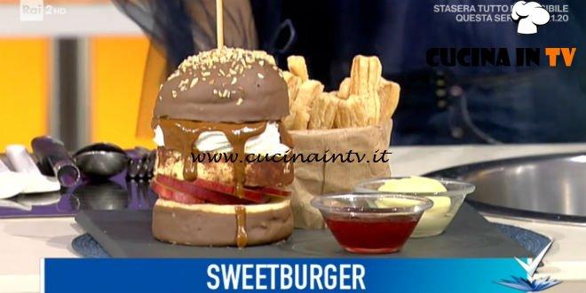 Detto Fatto | Sweetburger ricetta Alessandro Capotosti