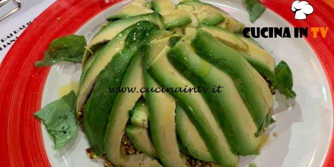 La Prova del Cuoco | Zuccotto di avocado e quinoa ricetta Paolo Zoppolatti
