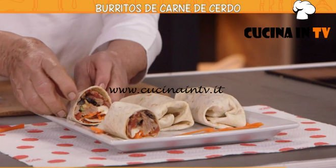 Ricette all'italiana - ricetta Burritos de carne de cerdo di Anna Moroni