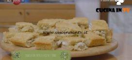 Il gusto della felicità | Focaccia con crema di ricotta e tonno ricetta Marco Bianchi