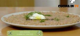Il gusto della felicità | Risotto semintegrale con barbabietola e caprino fresco ricetta Marco Bianchi