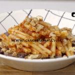 Il gusto della felicità - ricetta Pasta di riso e quinoa con sugo di pomodori secchi e radicchio di Marco Bianchi