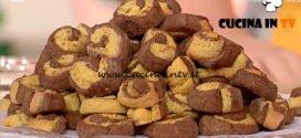 La Prova del Cuoco - ricetta Biscotti bicolore di Alessandra Spisni