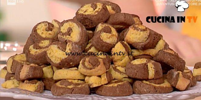 La Prova del Cuoco | Biscotti bicolore ricetta Alessandra Spisni