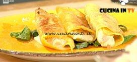 Geo | Cannelloni di stracchino e pollo alla salvia di Diego Scaramuzzaelloni di stracchino e pollo alla salvia ricetta Diego Scaramuzza