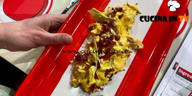 La Prova del Cuoco - ricetta Capricciosa di pollo con radicchio e pancetta di Joseph Micieli