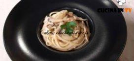 Cotto e mangiato - Linguine cardoncelli e gamberi ricetta Tessa Gelisio