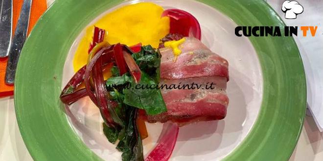 La Prova del Cuoco | Manzo alla piastra con salsa bernese ricetta Riccardo Facchini