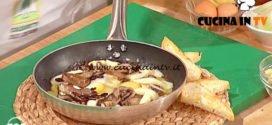 Geo | Padella di radicchio patate e uova ricetta Diego Scaramuzza