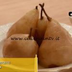 L'Italia a morsi - ricetta Pere allo zabaione ed aceto balsamico di Chiara Maci