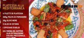 La Prova del Cuoco | Platessa alla mediterranea ricetta Angelica Sepe