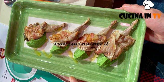 La Prova del Cuoco - ricetta Quaglie di guanciale e salvia con crema di broccolo di Cristian Bertol