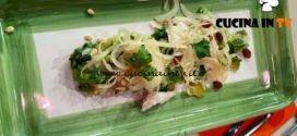 La Prova del Cuoco - ricetta Saòr leggero di ricchiola e scarola di Martino Scarpa