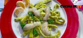 La Prova del Cuoco - ricetta Scialatielli alla carbonara di scampi e broccoletti di Juri Risso