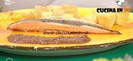 Geo - ricetta Sgombro con crema di lenticchie e cardi fritti di Carla Brigliadori