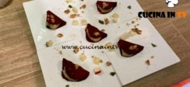 La Prova del Cuoco - ricetta Tacos di barbabietola con mele anacardi e noci di Federica Lippi