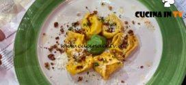 La Prova del Cuoco - ricetta Tortelli di mascarpone e nocciole di Cristian Bertol