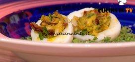 La Prova del Cuoco | Uova ripiene ricetta Cinzia Fumagalli