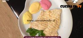 La Prova del Cuoco - ricetta Salsa alla barbabietola e salsa alla carota di Cinzia Fumagalli