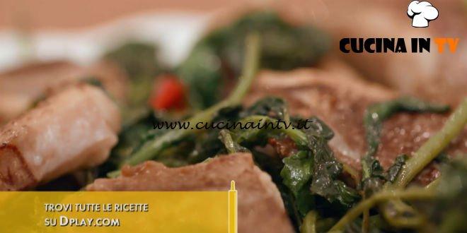 L'Italia a morsi - ricetta Agnello con le ramoracce di Chiara Maci